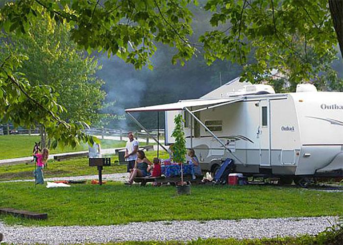 General Burnside Island & State Park Campground